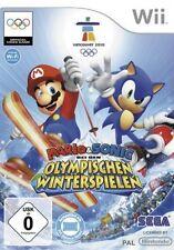 Nintendo Wii +Wii U MARIO UND SONIC bei den OLYMPISCHEN WINTERSPIELEN GuterZust.