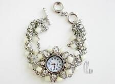 AU SELLER Sparkling Made with Swarovski Crystal Bracelet Watch W128