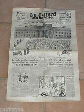 Le Canard Enchainé N° 2209 du 20 fevrier 1963 - Journal anniversaire 20-02-63
