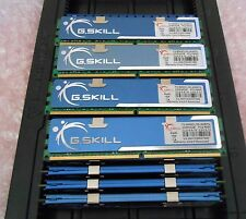 GSKILL 8GB (4 x 2GB) F2-8000CL5D-4GPQ  PC2-8000U CL5 1000MHz kit (3 KITS AVAIL)