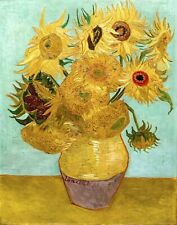 Dutch Sunflowers By Vincent Van Gogh Giclee Archival Fine Art Paper Reproduction