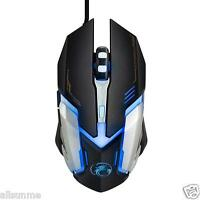 Pro 3000 DPI LED Optical 6D USB Wired Gaming Game Mouse Mice For PC Laptop Game
