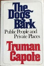 "Truman Capote- Signed Hardbound Book; ""The Dogs Bark"""