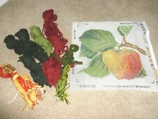 Ehrman tapestry kit Apple Cushion  most wools included