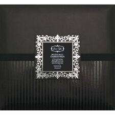 "12"" x 12"" WEDDING SCRAPBOOK PHOTO ALBUM IN BLACK REFILLABLE DESIGNER COVER BOOK"