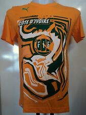 IVORY COAST GRAPHIC TEE SHIRT BY PUMA ADULTS SIZE SMALL BRAND NEW WITH TAGS