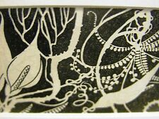 Don Blanding 1942 VARIETY of LOVELY FLORIDA FLOWERS Botanical Deco Print Matted