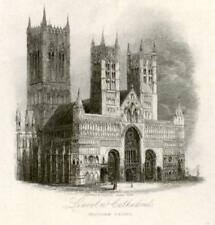 Scenery of Great Britain - Eng.-1841- LINCOLN CATHEDRAL