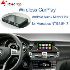 Wireless CarPlay Android Auto Interface for Mercedes Benz CLS W218 2011-2015