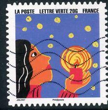 TIMBRE FRANCE  AUTOADHESIF OBLITERE N° 1199 / BONNE ANNEE / FETE DE FIN D'ANNEE