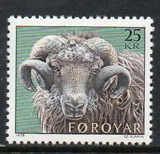 Faroe Islands MNH 1979 Faroese Ram