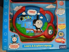 Rare Sealed Thomas The Train VTECH Educational Laptop Electronic Kids Toy