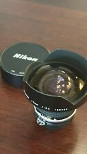 Nikon nikkor ai-s 15mm f 3,5mm wide-angle rectilinear lens !!!