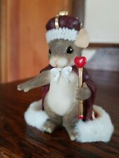 """Charming Tails """"King of My Heart"""" New In Box"""