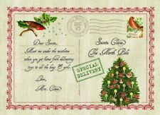 "Carnation Home Fashions ""Letter to Santa"" Expanded Foam Placemat CAR-XPLMT-LTS"