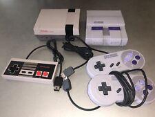 Nintendo NES Classic Mini & SNES Classic Mini Bundle
