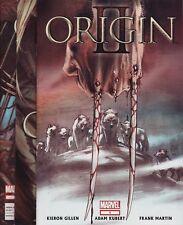 WOLVERINE: ORIGIN II #1,2,3,4 & 5 Marvel Comics 1ST PRINTS! Avengers X-Men LOGAN