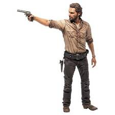 Walking Dead TV Rick Grimes 10inch Deluxe Action Figure McFarlane Toys