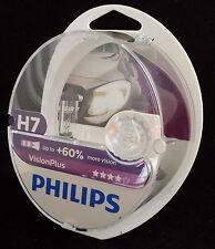 PHILIPS H7 Vision Plus neue Auführung +60% mehr Licht 2st. UK ref: 477 12972VPS