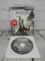 BioShock & Assassins Creed 3 (Sony PlayStation 3 PS3, 2008) Video Game Lot