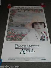 ENCHANTED APRIL - ORIGINAL SS ROLLED POSTER - 1991
