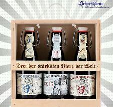 Besonderes Bier Set!Das ideale Geschenk- 3 der stärksten Biere der Welt 26,16€/l