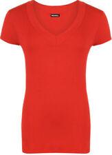 Altri maglie da donna a manica corta rossi