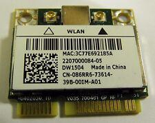Dell Latitude 3330 E6320 Wireless WIFI tarjeta 86RR6 802.11n probado y de trabajo