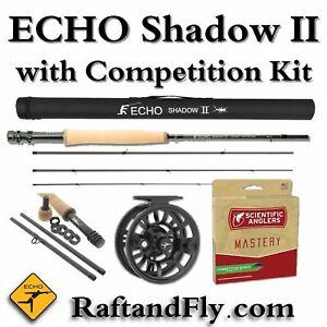 "Echo Shadow II 4wt 10'6"" with Free Comp Kit $289 - Add Line $299 | Reel $349"