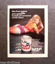 P330 - Advertising Pubblicità -1972- POZZI VERNICI