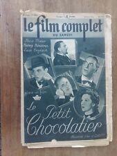 Magazine FILM COMPLET LE PETIT CHOCOLATIER hans MOSER lucie ENGLISCH 1941 *