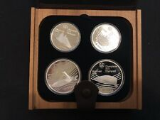 Silver Coin Montreal Summer Olympics 1976 - 4 Set Venues