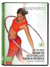 Hoopnotica 4 Hula hoop Dance Workout (DVD, 2011) Usually ships within 12 hours!!