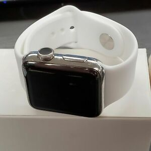 Apple Watch Series 2 38mm Stainless Steel Sapphire Crystal Sport Band* B GRADE**
