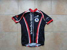 Maillot cyclisme SERRE CHEVALIER LUC ALPHAND France Tour giordana  XL TBE