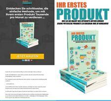 Ihr erstes Produkt - Online Verkaufen - eBook, PLR Lizenz Komplettpaket