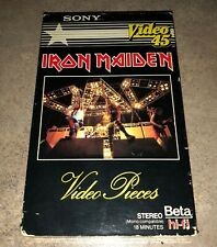 "IRON MAIDEN - ""Video Pieces"" - BETA hi fi - Video 45 - 1983"