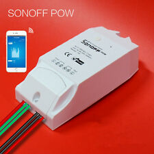 Sonoff 16A Power Measuring Monitor Wifi Smart Home Automation Switch Control PM