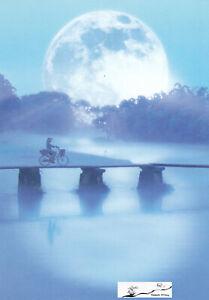 Postkarte: Moonlight Journey Asien