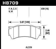 Hawk Performance HB709G.630 DTC-60 Disc Brake Pad