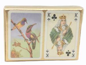 PIATNIK-VIENNA made Austria Vintage BIrd Playing Cards
