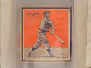 1936 ARKY VAUGHAN PITTSBURGH PIRATES FROM WHEATIES CEREAL BOX