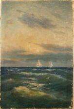 Schiffs- & Seefahrt 1900-1949 künstlerische Malereien direkt vom Künstler
