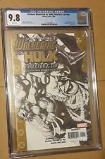 ULTIMATE WOLVERINE VS HULK DIRECTOR'S CUT CGC 9.8 SKETCH COVER LIMITED EDITION