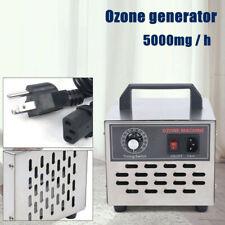 Commercial Air Purifier 5000mg Ozone Generator Home Hotel Mildew Odor Deodorizer