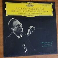 Mozart-Karl Bohm~Symphonien Nr. 40 g-moll KV550 and Nr. 41 Jupiter KV551~M/VG+