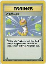 Pokemon Tarjeta Trading Cartas Game Básicas Set Núm 93/102 Windhauch Alemán