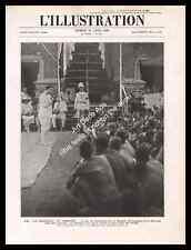1928 Cambodge, Le Roi Monivong libère des Prisonniers