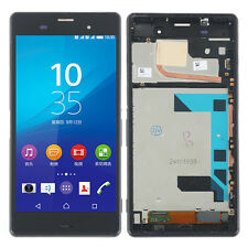 "5.2"" For Sony Xperia Z3 D6653 D6603 LCD Screen + Touch Digitizer Assembly Frame"