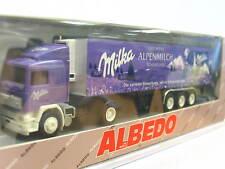 Albedo Volvo Kühlkoffersattelzug Milka Alpenmilch OVP (N1265)